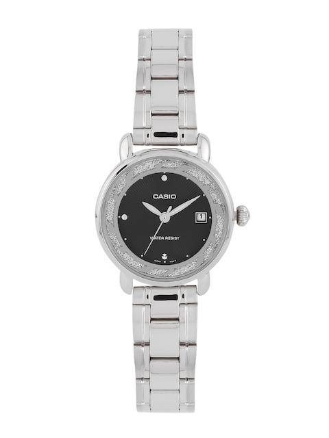 Casio Enticer LTP-E120D-1ADF (A1040) Analog Black Dial Women's Watch