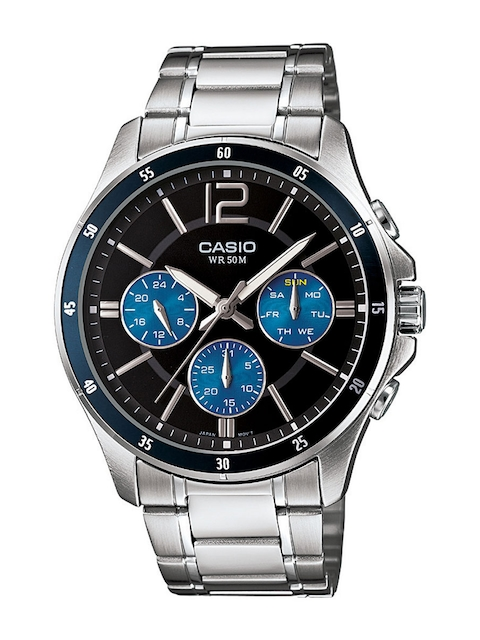 Casio Enticer MTP-1374D-2AVDF (A950) Analog Black Dial Men's Watch (MTP-1374D-2AVDF (A950))