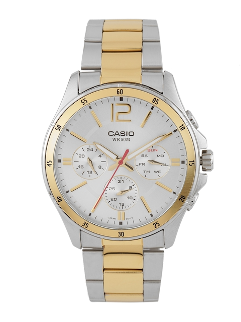 Casio Enticer MTP-1374SG-7AVDF (A954) Analog White Dial Men's Watch (MTP-1374SG-7AVDF (A954))