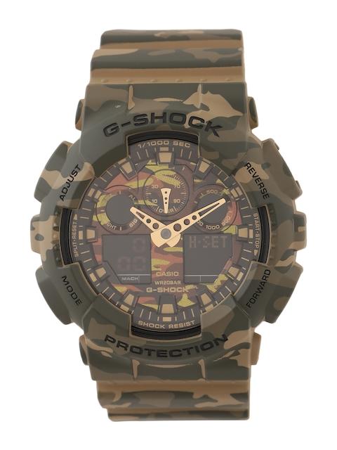 Casio G-Shock Men Mud Analogue-Digital Watches (G580) GA-100CM-5ADR