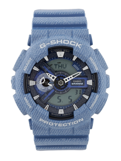 CASIO G-Shock Men Sky Blue Analogue-Digital Watch (G637) GA-110DC-2ADR