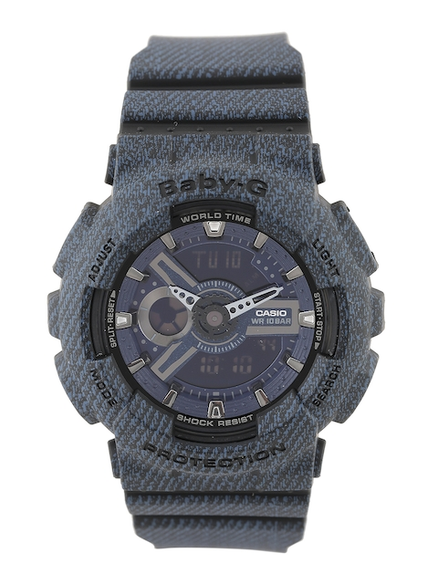 CASIO Baby-G Women Blue Analogue & Digital Watch BX048