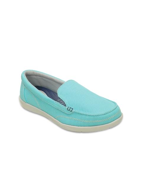 Crocs Women Blue Loafers