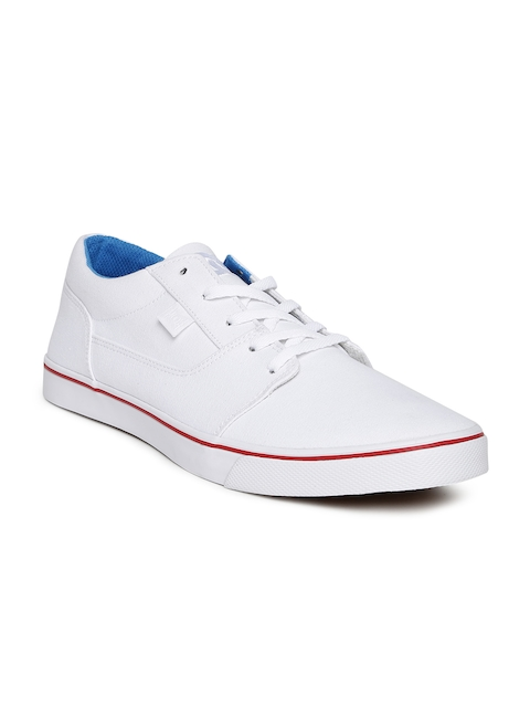 DC Women White Tonik TX Sneakers