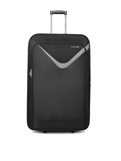 Safari Unisex Black Victory Large Trolley Bag
