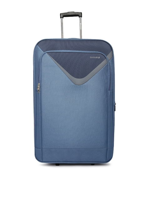 Safari Unisex Blue Victory Large Trolley Bag
