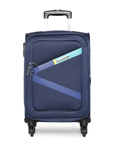 Safari Unisex Blue Greater Small Trolley Bag
