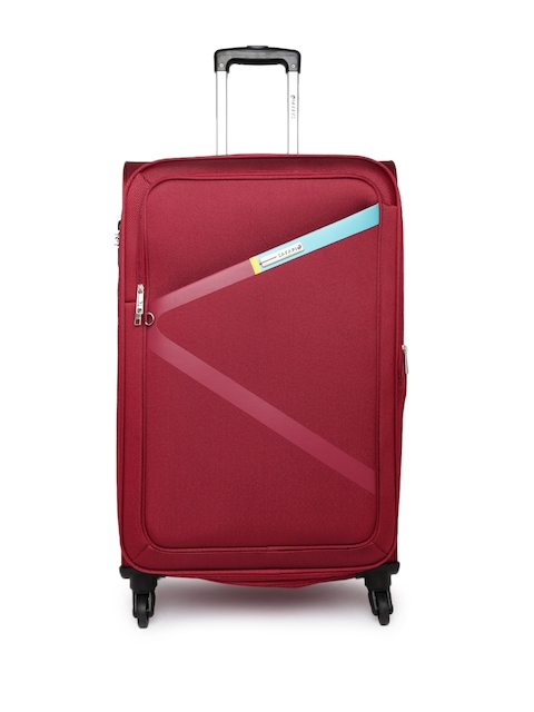 Safari Unisex Red Greater Large Trolley Bag
