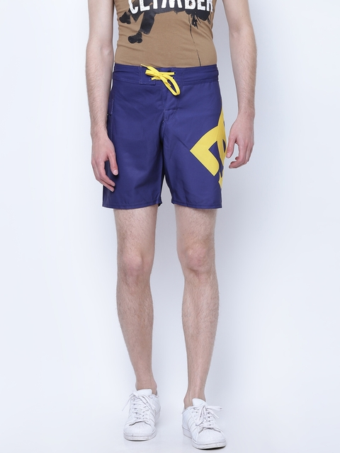 DC Navy Printed Swim Shorts 3613371234041