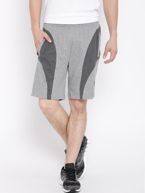 Jockey Grey Melange Sport Shorts