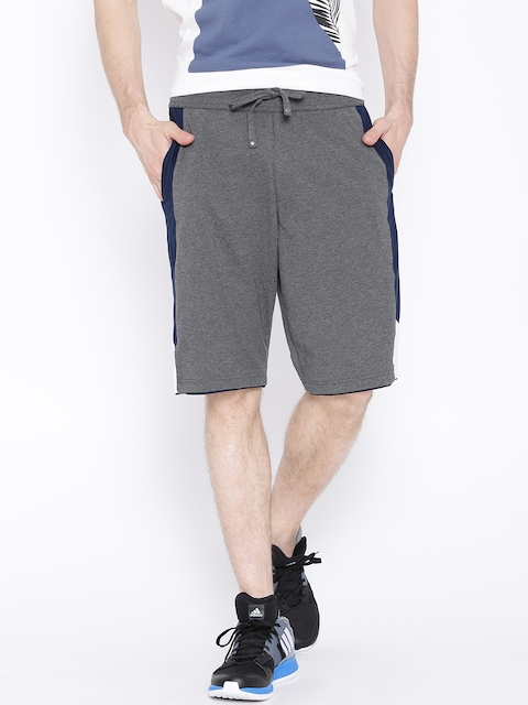 Jockey Grey Melange Shorts