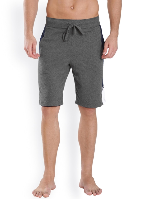 Jockey SPORT Grey Melange Shorts  9415
