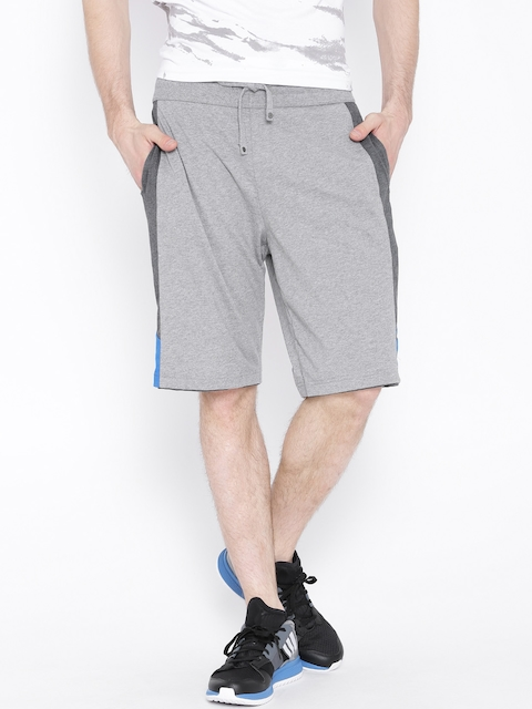 Jockey Grey Melange Sports Shorts