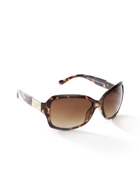 Lee Cooper Women Animal Print Rectangular Sunglasses LC9101SXA DA