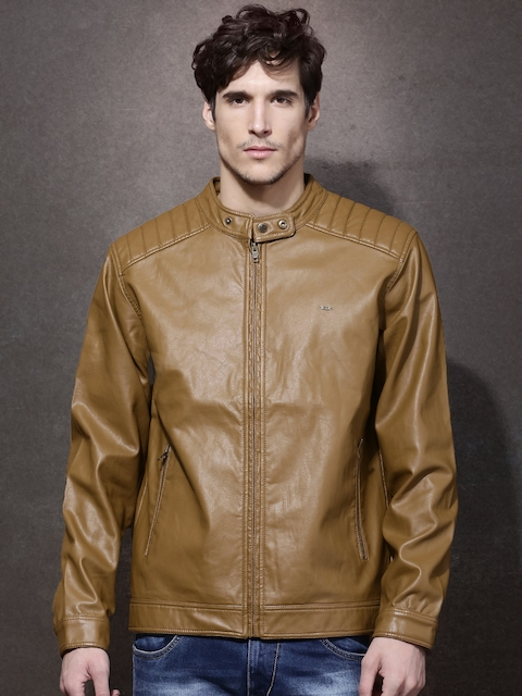 Roadster Brown Biker Jacket