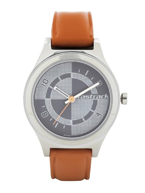 Fastrack Women Grey Dial Watch 6152SL02