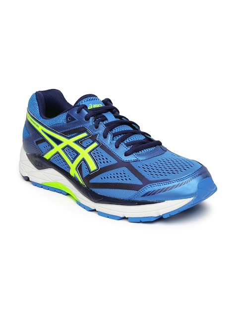 ASICS Men Blue Gel-Foundation 12 Running Shoes
