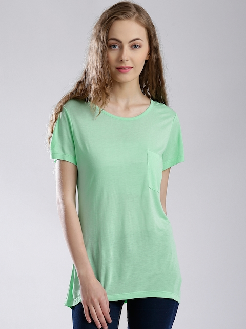 French Connection Mint Green T-shirt