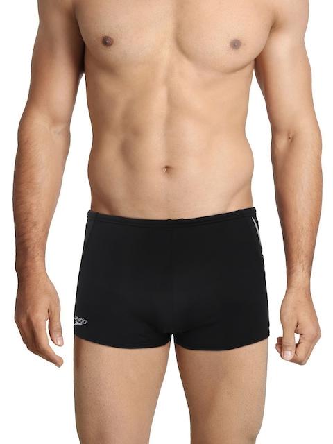 Speedo Men Black Endurance+ Swimming Trunks
