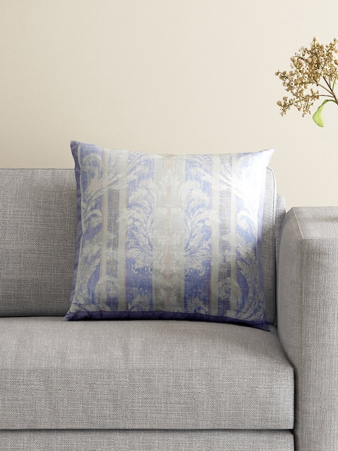 MASPAR Blue Single Printed 18 x 18 Square Cushion Cover