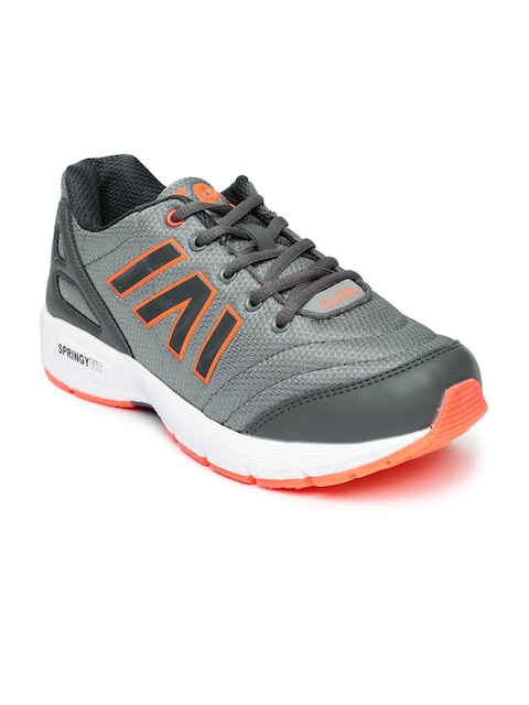 Campus Men Grey Cubic Running Shoes
