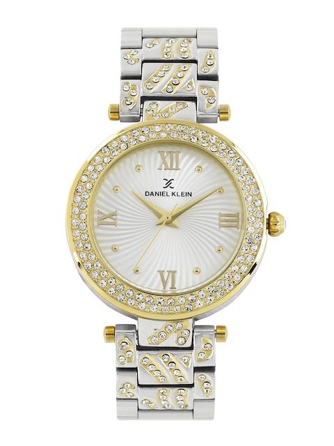 Daniel Klein Women Silver-Toned Dial Watch DK10964-3