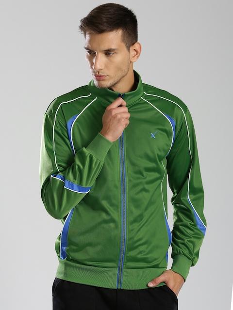 HRX by Hrithik Roshan Green Track Jacket
