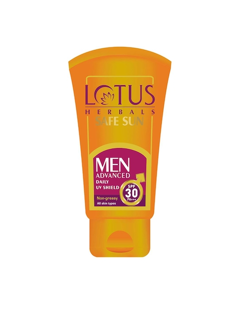 Lotus Herbals Men Safe Sun Advanced Daily UV Shield SPF-30