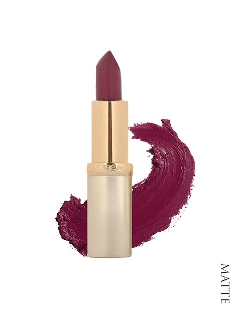 LOreal Paris Color Riche Matte Intense Plum Lipstick 374