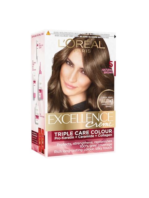 LOreal Paris Excellence Creme Natural Brown Hair Colour 5