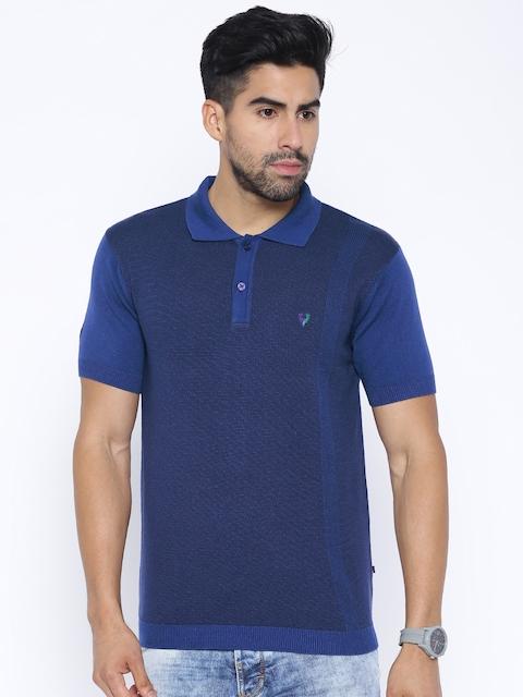 Allen Solly Sport Blue Polo T-shirt