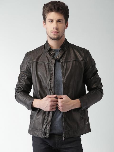 Mast & Harbour Black Biker Jacket