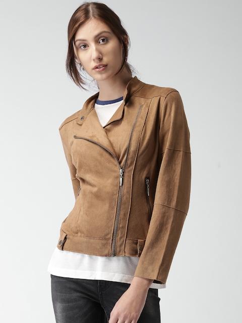 Mast & Harbour Tan Brown Jacket
