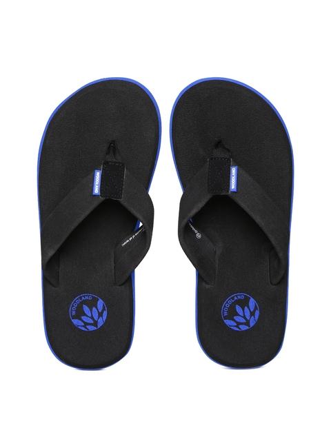 Woodland ProPlanet Men Black Flip-Flops