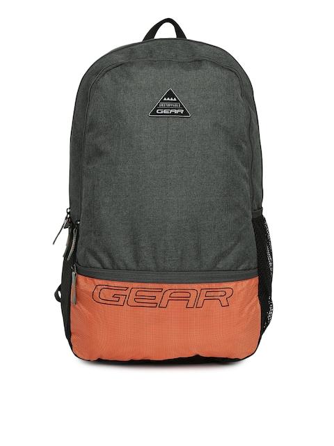 Gear Unisex Grey Backpack