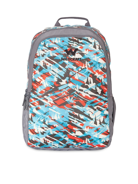 Wildcraft Unisex Multicoloured Printed Camo 2 Backpack