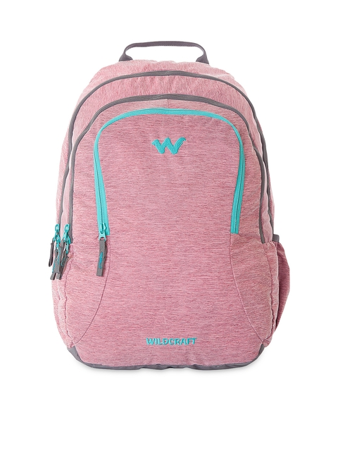 Wildcraft Unisex Pink Backpack