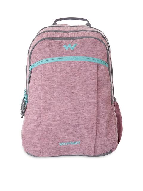 Wildcraft Unisex Pink Melange Backpack