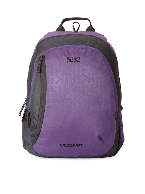 Wiki by Wildcraft Unisex Purple Backpack