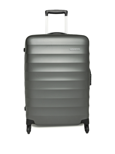 AMERICAN TOURISTER Unisex Grey Paralite Medium Trolley Suitcase
