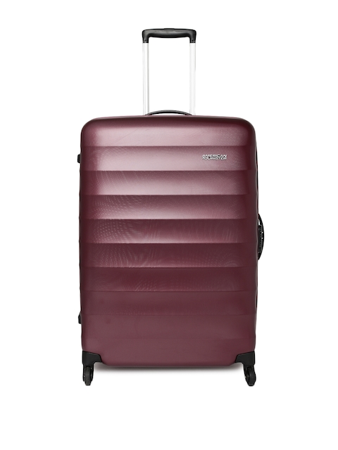 AMERICAN TOURISTER Unisex Burgundy Paralite Large Trolley Suitcase