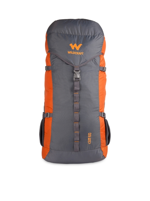 Wildcraft Unisex Grey & Orange Rucksack  available at myntra for Rs.3149