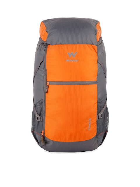 Wildcraft Unisex Orange Rucksack  available at myntra for Rs.2949