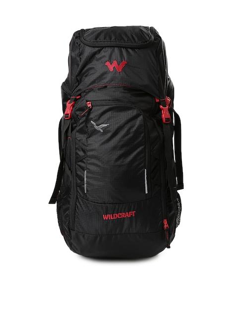 Wildcraft Unisex Black Rucksack