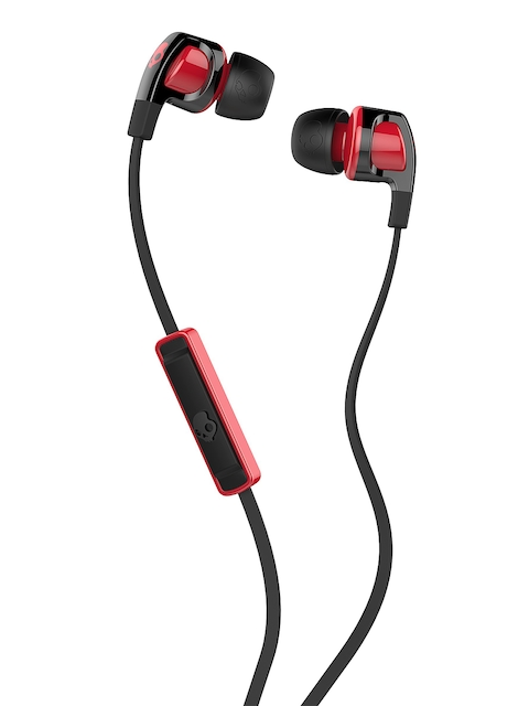 Skullcandy Black Smokin' 2 Earbuds with Mic