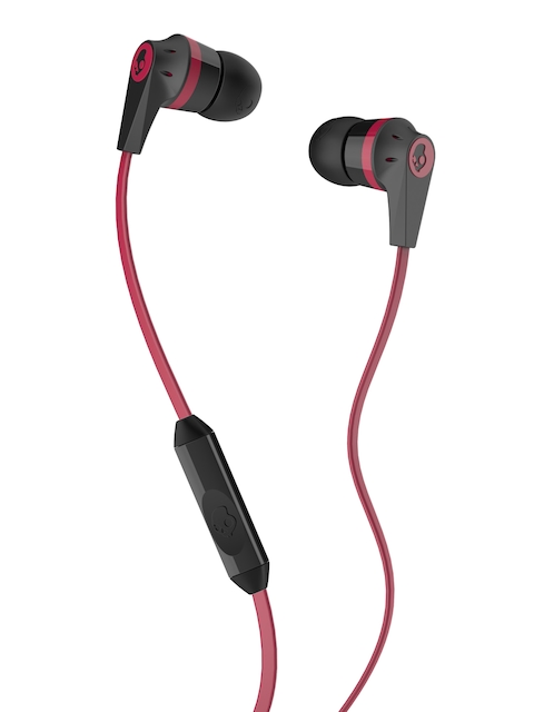 Skullcandy Black & Red Ink'd 2 Earbuds with Mic