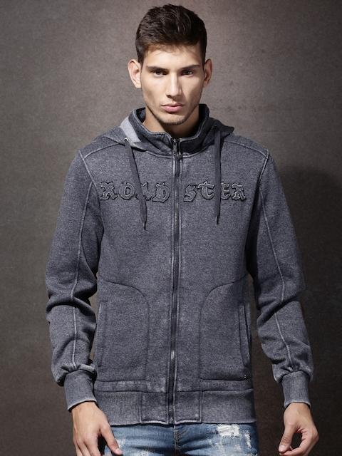 RDSTR Navy Washed Hooded Sweatshirt
