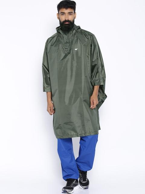 Wildcraft Olive Green Rain Poncho