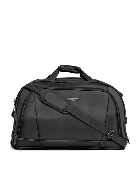 Safari Unisex Black Torch Trolley Duffel Bag