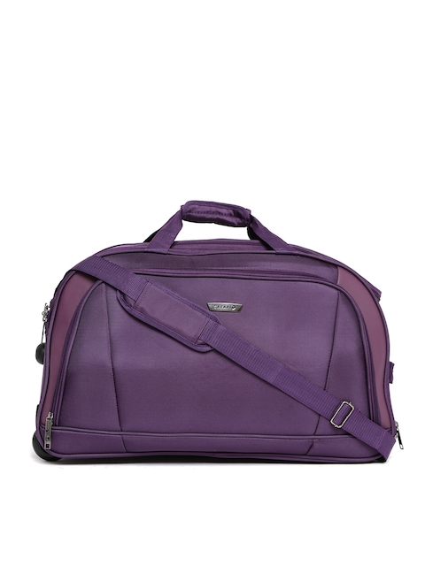 Safari Unisex Purple Trolley Duffel Bag